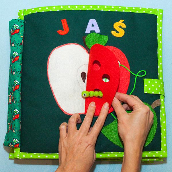 Okładka przeplatanka jabłuszko