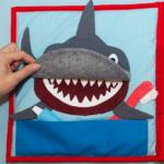 Myjemy zęby rekinowi.